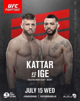 UFC Fight Night Kattar vs Ige - MMA Fight Coverage