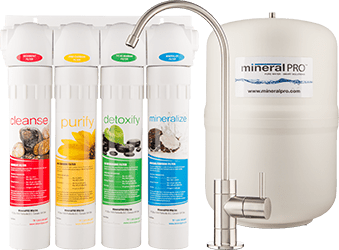 Get Alkaline Water from A Mineral Pro RO Filter