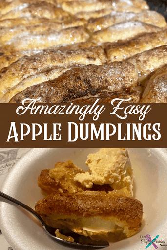 Amazingly Easy Apple Dumplings