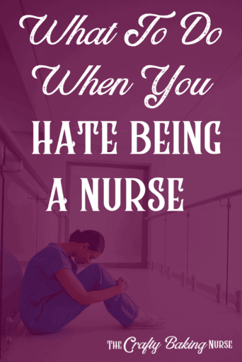 What to do when you hate being an urse