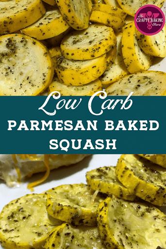 Baked parmesan squash