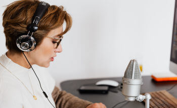 Audio recording for hypnotherapists