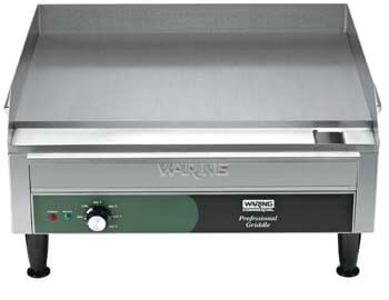 3. Warring Commercial WGR240X240 Volt Electric Countertop griddle.