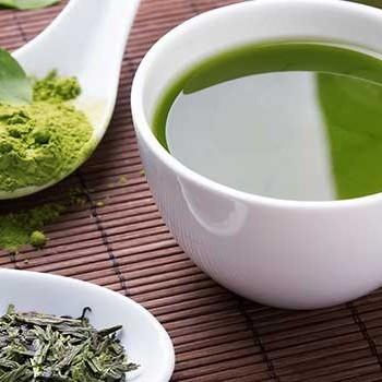 add greens powder to tea