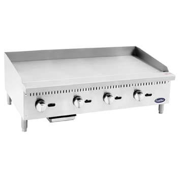 10. Cook Rite ATMG 48 Commercial Griddle Heavy Duty Manual Griddle.