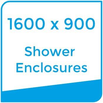 1600 x 900 shower enclosures