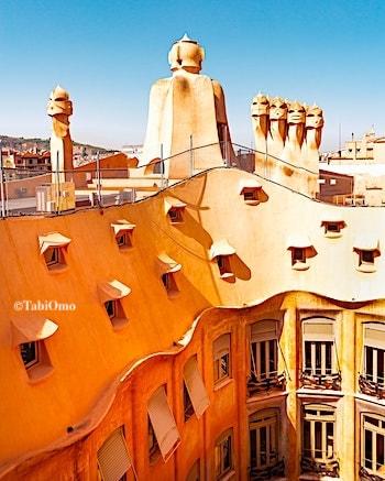カサミラの屋上の画像