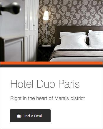 Hotel duo paris