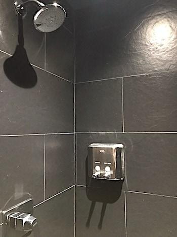 ラウンジのシャワー