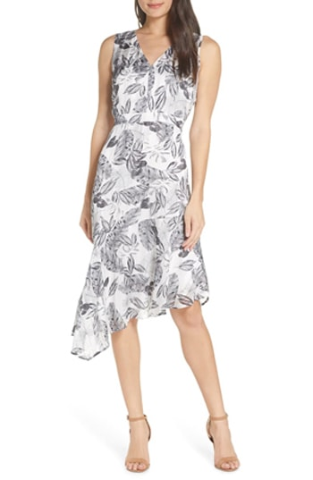 asymmetrical dress   40plusstyle.com