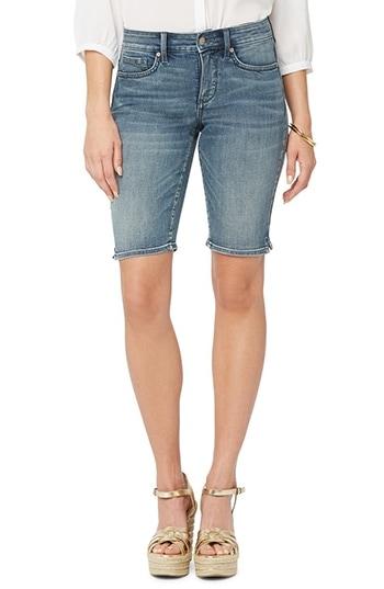 NYDJ Briella Cool Embrace® Denim Bermuda Shorts   40plusstyle.com
