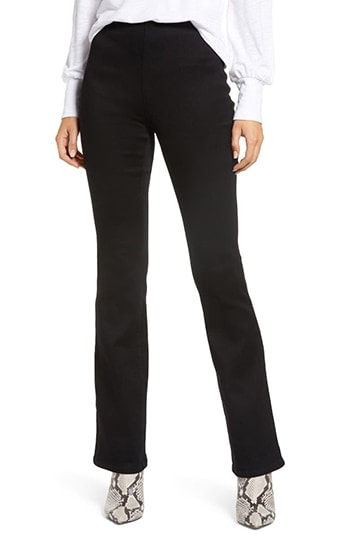 1822 Denim High Waist Pull-On Slim Bootcut Jeans | 40plusstyle.com