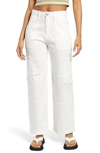 BP. wide leg utility jeans   40plusstyle.com