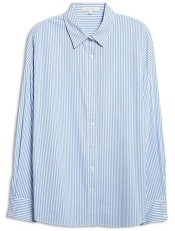 Favorite Daughter poplin shirt | 40plusstyle.com