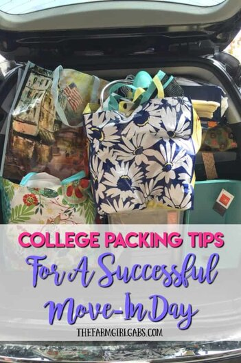 10 Practical College Packing Tips For A Successful Move-In Day. #Ad #SkinEssentials