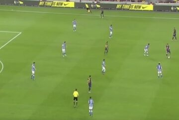 Messi Through Ball