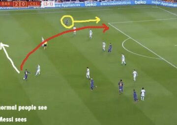 Messi's Vision