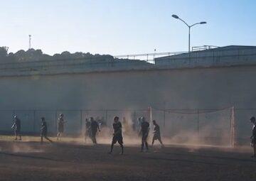 San Quentin Soccer Game