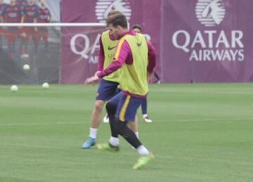 Messi First Touch Training