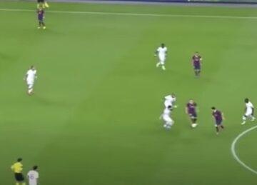 Iniesta's La Pausa Move