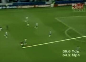 Cristiano Long Range Goal