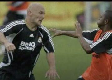 Robinho & Gravesen in a Fight
