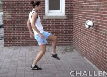 Wall Juggling Soccer