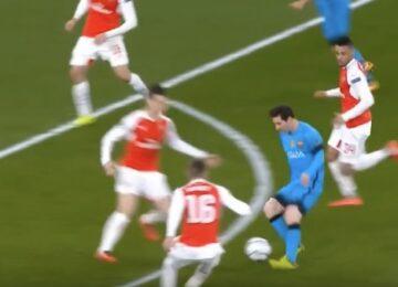 Messi Nutmeg King