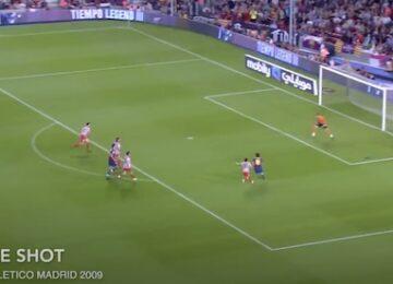 Messi Not Touching Ball