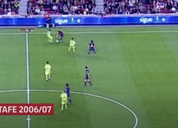 Messi Getafe Goal