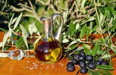 olive oil pot