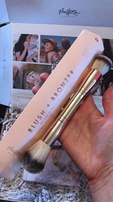 Maskcara blush and bronzer brush