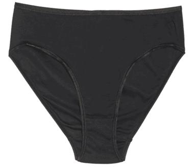 No show underwear - Hanro seamless cotton high cut briefs | 40plusstyle.com