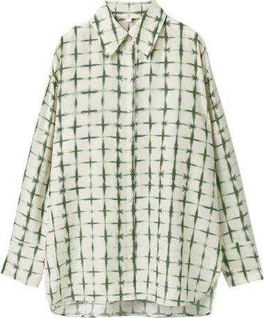 COS printed silk blouse | 40plusstyle.com