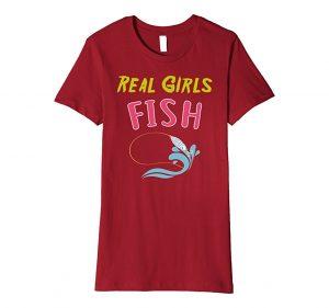 Real Girls Fish Graphic T-Shirt