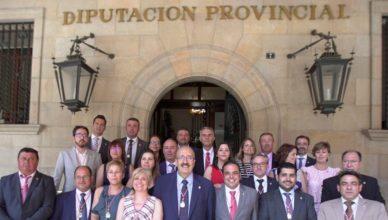 Ganapanes en una diputación provincial