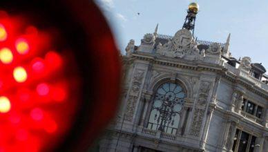 Banco de España luz roja