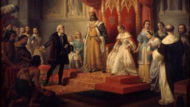 Colón América Reyes Católicos