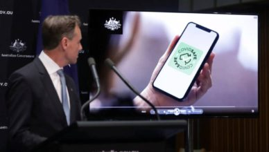 Australia - Covid Tracing App
