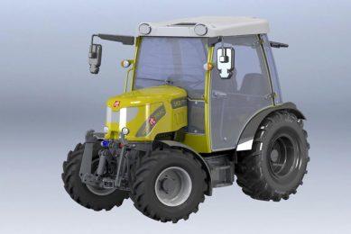 Rigitrac introduces 100% electric tractor