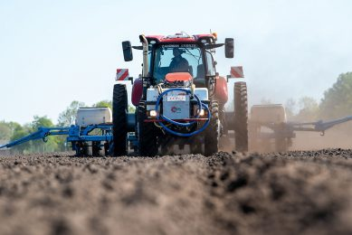 Precision seeding for higher yields and less weeds