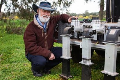 Growave kills weeds using microwave technology
