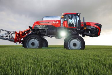 This is the Kuhn Stronger 4000 SP sprayer