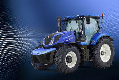 New Holland methane-powered tractor into production