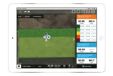 Live planting information with Ag Leader Live Maps