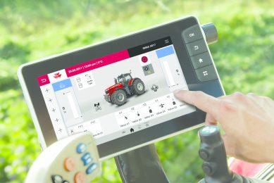 New products – Massey Ferguson Datatronic 5 touch display