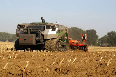 The AgXeed AgBot. - Photo: WUR