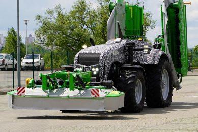 Autonomous tractor prototype. - Photo: Profi