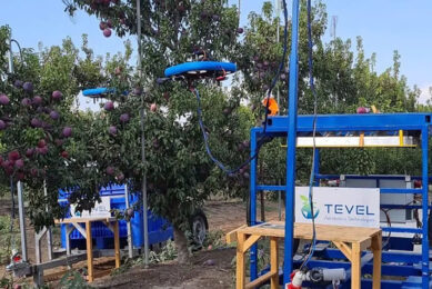 Tevel Aerobotics Technologies won the Best Field Robot Concept Award 2020. Who will win this year? - Photo: Tevel Aerobotics Technologies