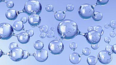 drinking water molecule